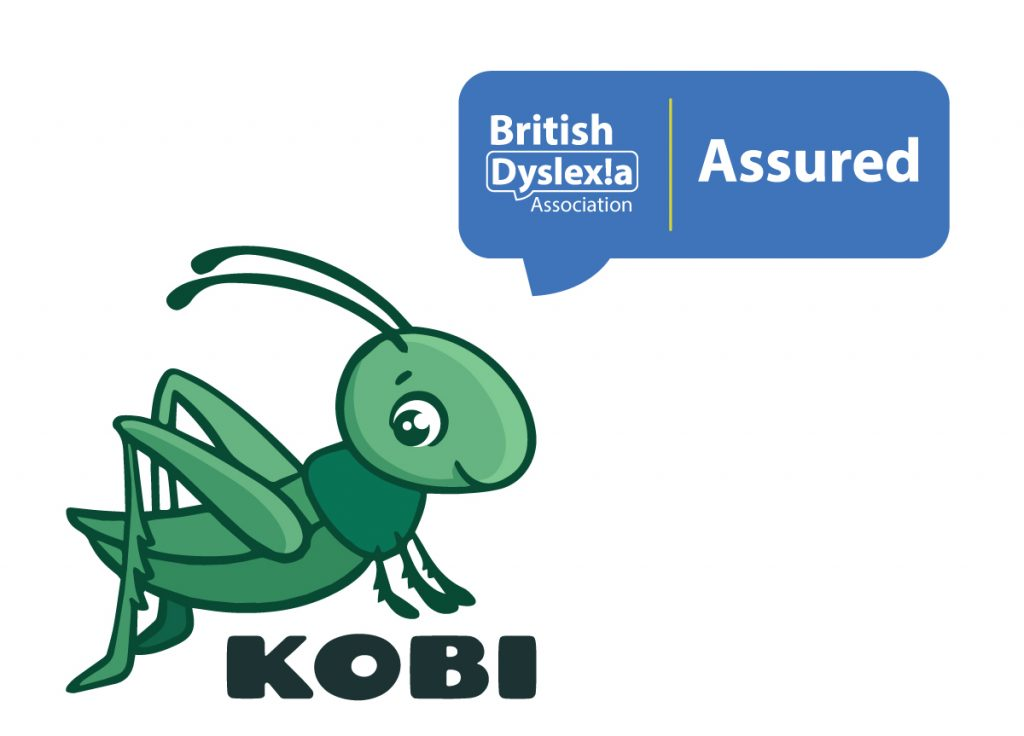 "We are proud to announce that British Dyslexia Association recognized Kobi as a valid tool in the battle against dyslexia and awarded the app a place in their coveted ""Assured"" program."